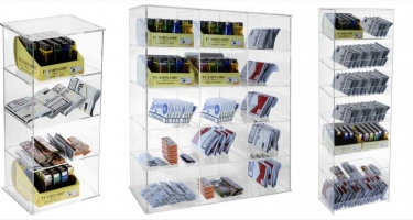 CIGARETTE LIGHTER DISPLAY STANDS