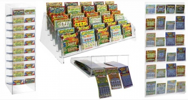 SCRATCH CARD HOLDER DISPLAYS