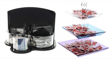 SUGAR SACHET HOLDER DISPLAYS