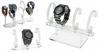 WRIST WATCH DISPLAY HOLDER STANDS