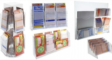 BET SLIP CARD HOLDER DISPLAYS