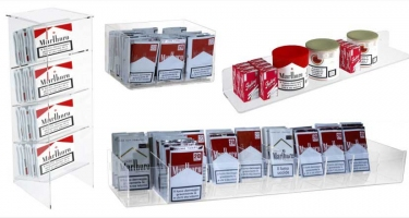 TOBACCO DISPLAY CASES